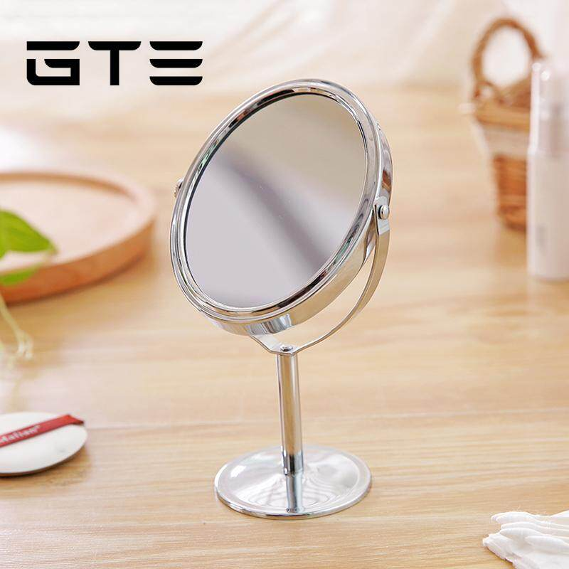 Gte Desktop Metal Portable Makeup Mirror Double Sided Vanity And Magnifying Glass Fulfilled By