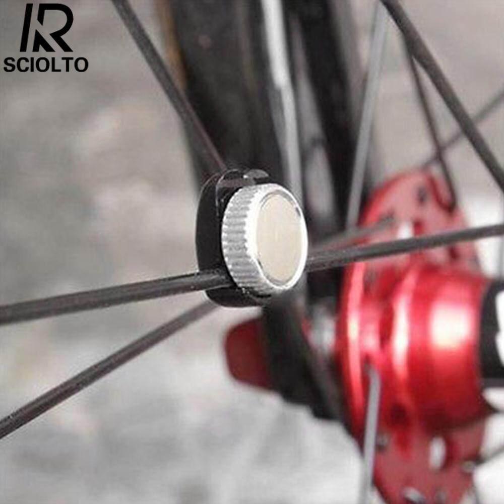 Hình ảnh SCIOLTO SPORTS Black Silver Bike Computer Cycling Mountain Bike Odometer Spoke