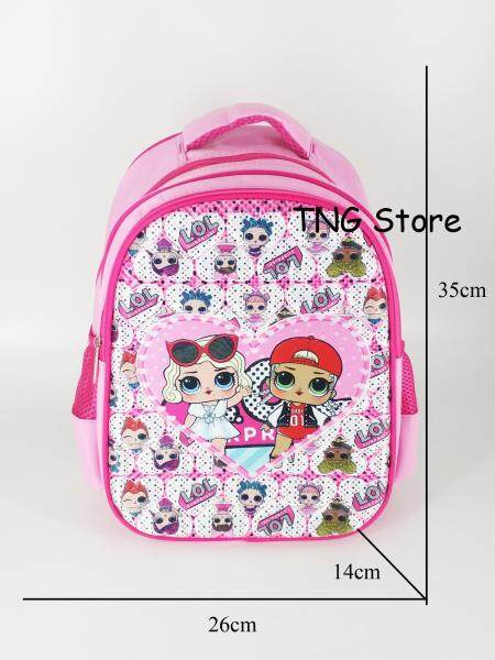 Tng Store LOL 惊喜 Surprise Backpack School Bag Ready Stock