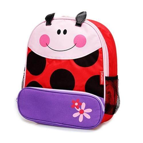 TEEMI Cartoon Animal School Bag Backpack for Nursery Kindergarten Kids Children Toddler - Ladybug