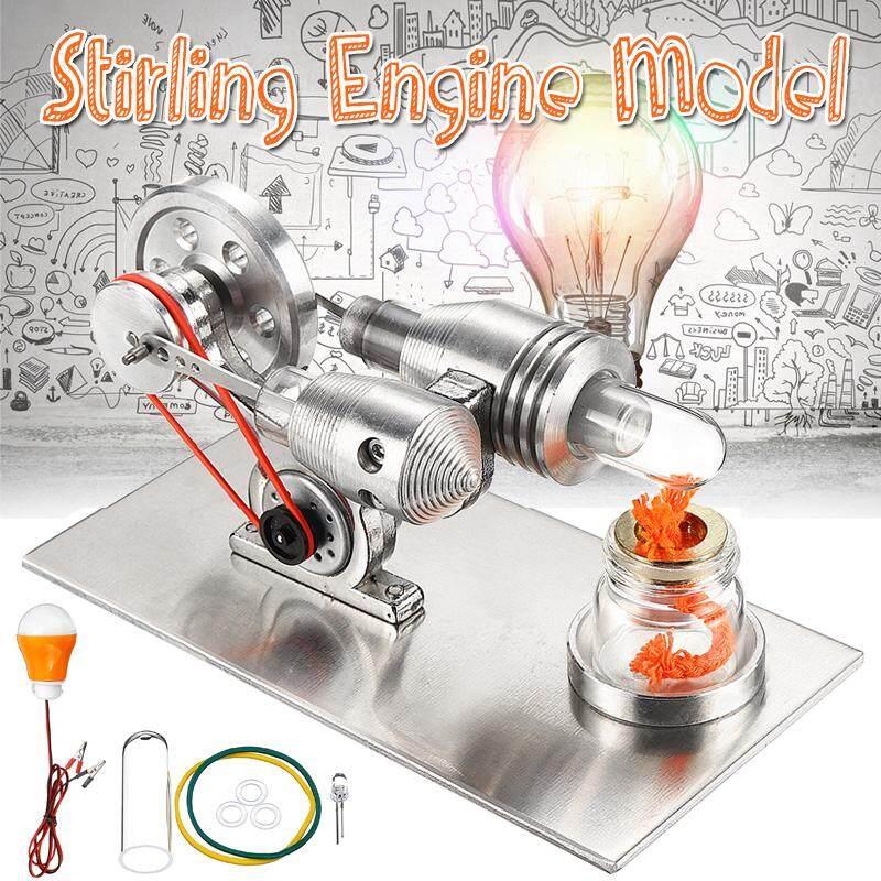 Coupon Khuyến Mại Động Cơ Stirling Mô Hình Mini Không Khí Nóng Máy Phát Điện Động Cơ Thí Nghiệm Vật Lý Đồ Chơi