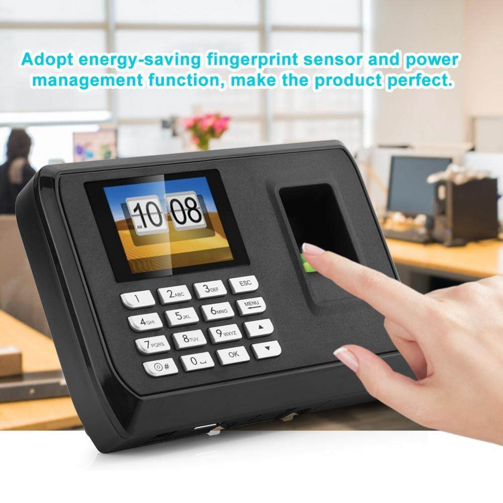 1.8 TFT Office USB Drive Fingerprint Attendance Machine Access Control System 110-240V (EU)