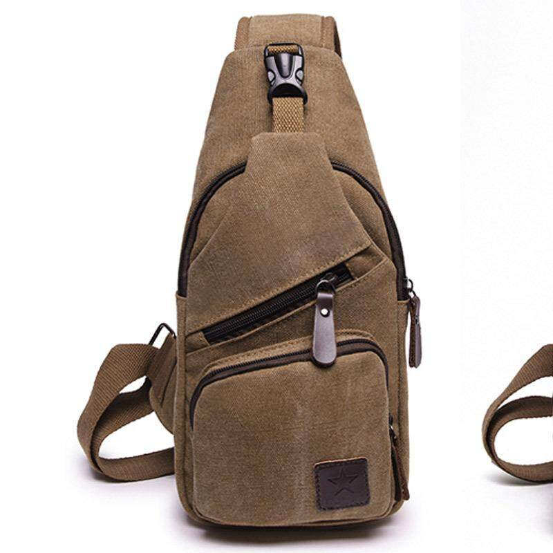 high quality Canvas Crossbody Bags for Men Women Sling Chest Bag Teenagers  Travel Shoulder Bag Male bddfaaf5e7