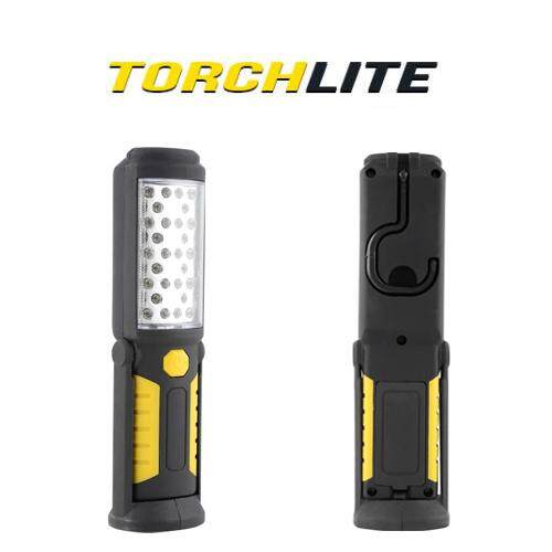 (Yellow Colour)TorchLite 33 LED Magnetic Base Super Bright