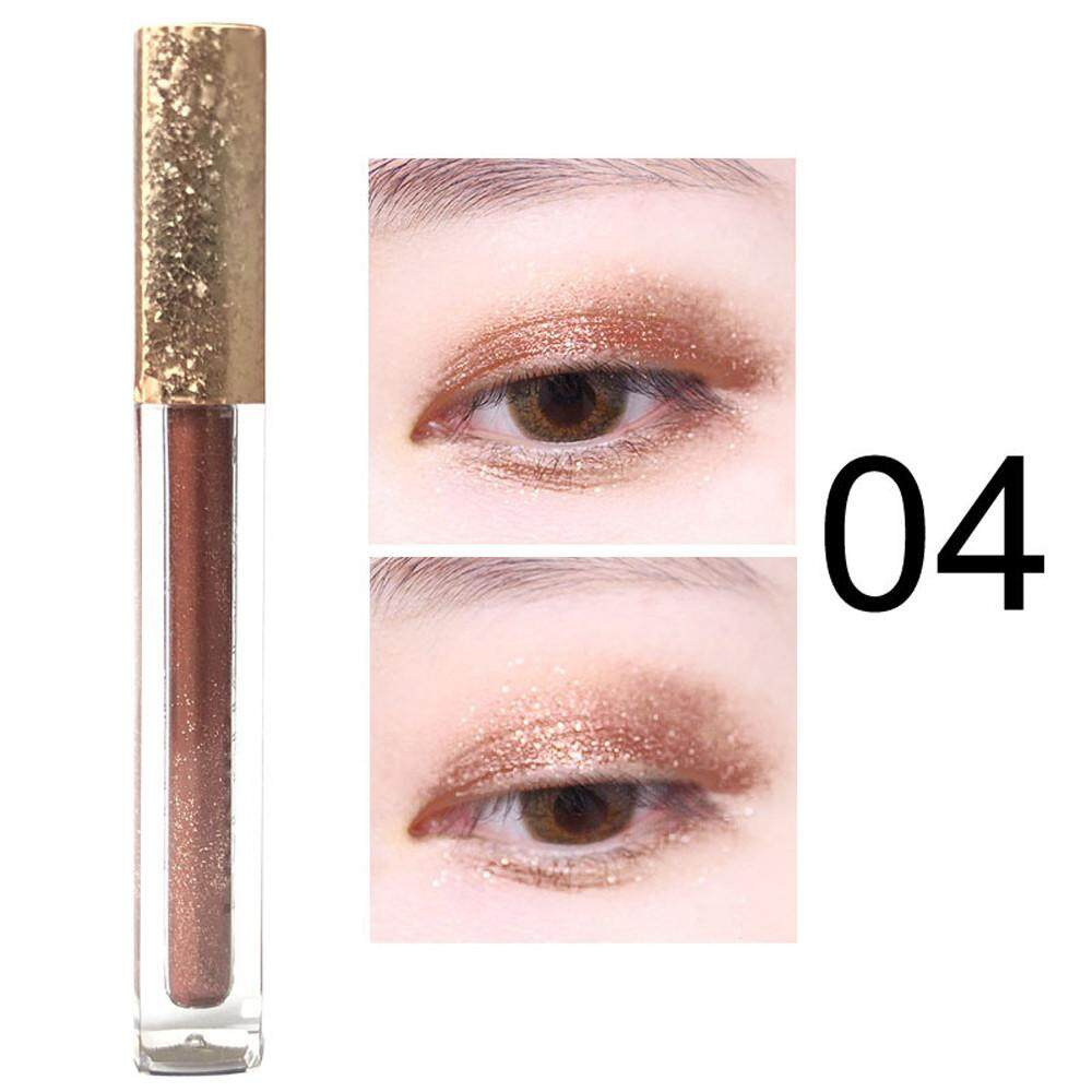 Lion Metallic Shiny Smoky Eyes Eyeshadow Waterproof Glitter Liquid Eyeliner Philippines