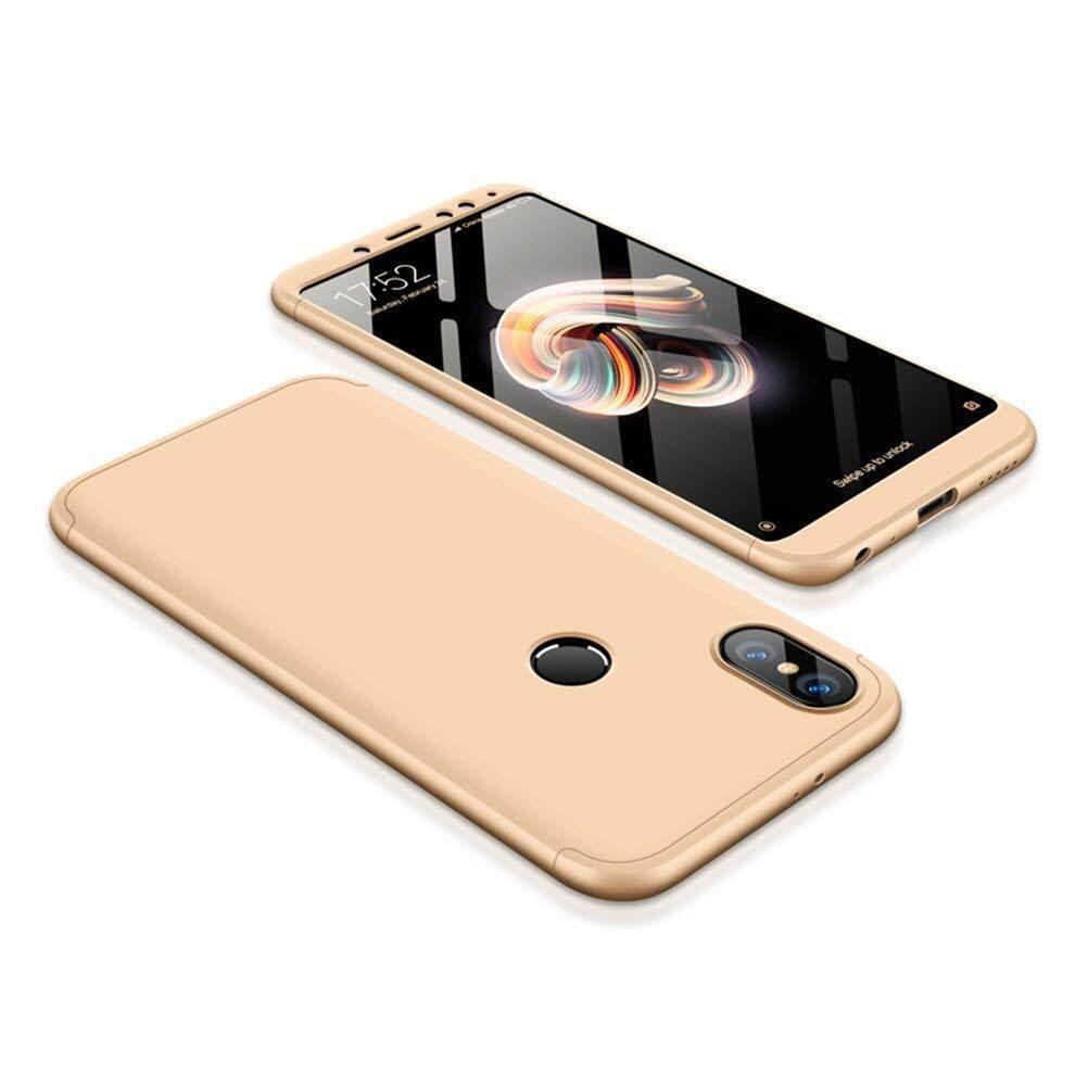 For Xiomi Hongmi Note 5 Full Body 360 Degree Coverage Protection Detachable PC Hard Cover Protective