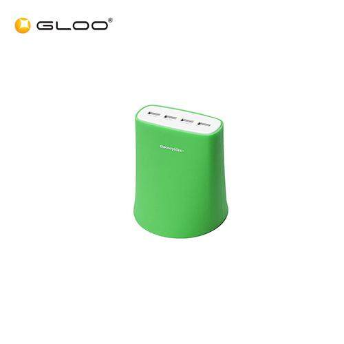 THECOOPIDEA JELLY 5.1A USB Charging Station Green 6942951843388