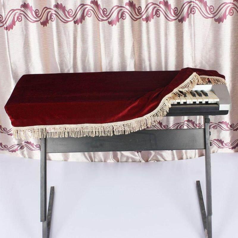 LALOVE Đàn Piano Bảo Vệ Mềm Mại Đàn Piano Bao Da Bàn Phím cho 61 Phím Đàn Piano Điện Tử