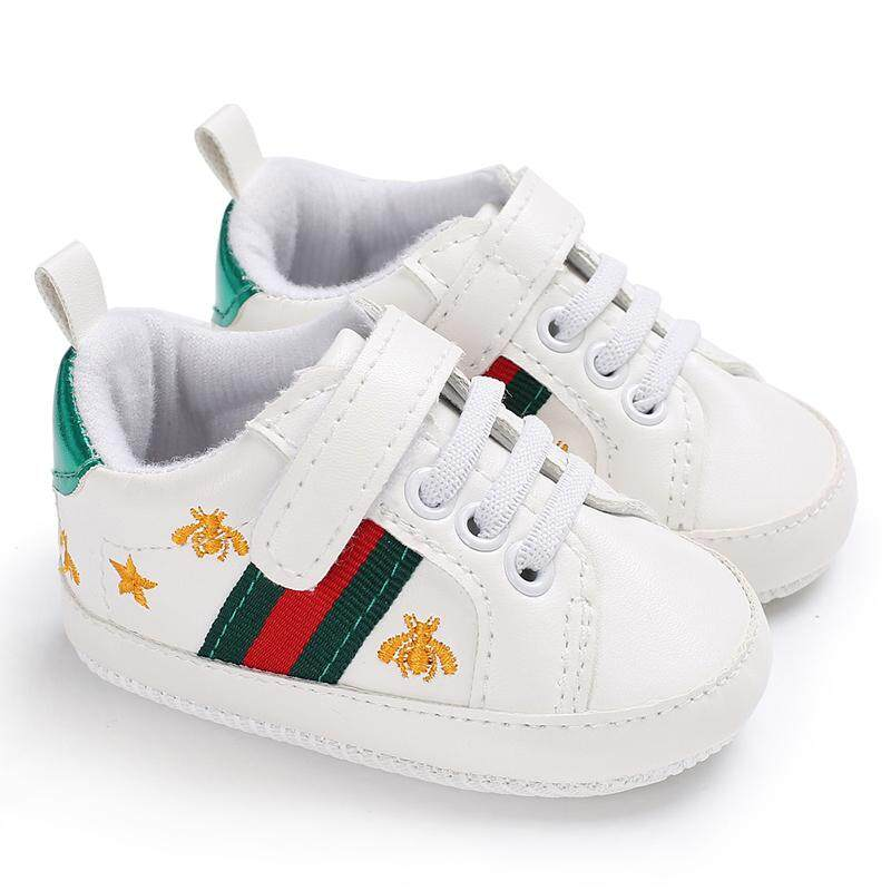 Crazy Store Newborn-18 Months Toddler Shoes Baby Boys Girls Slip-On Soft Sole Sneakers Casual Shoes S2523-S2525 - Intl.