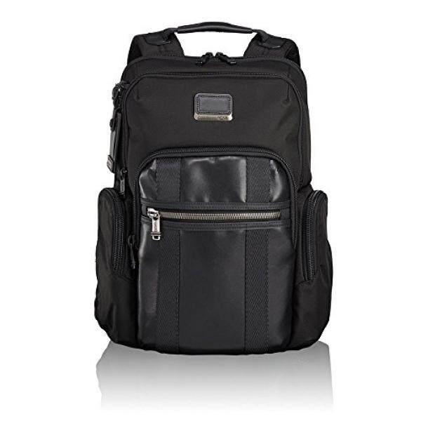 Tumi Mens Alpha Bravo Nellis Backpack, Black, One Size