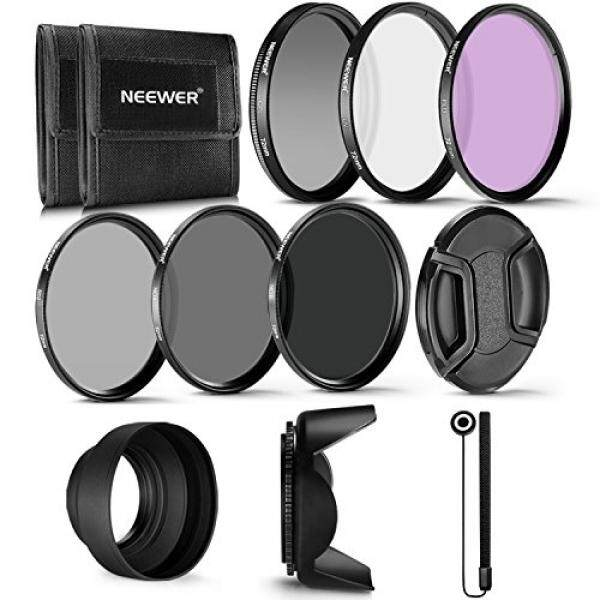 Neewer 72MM Professional UV CPL FLD Lens Filter and ND Neutral Density Filter Accessory Kit for Canon EF 35mm f/1.4L, EF 85mm f/1.2L II - intl