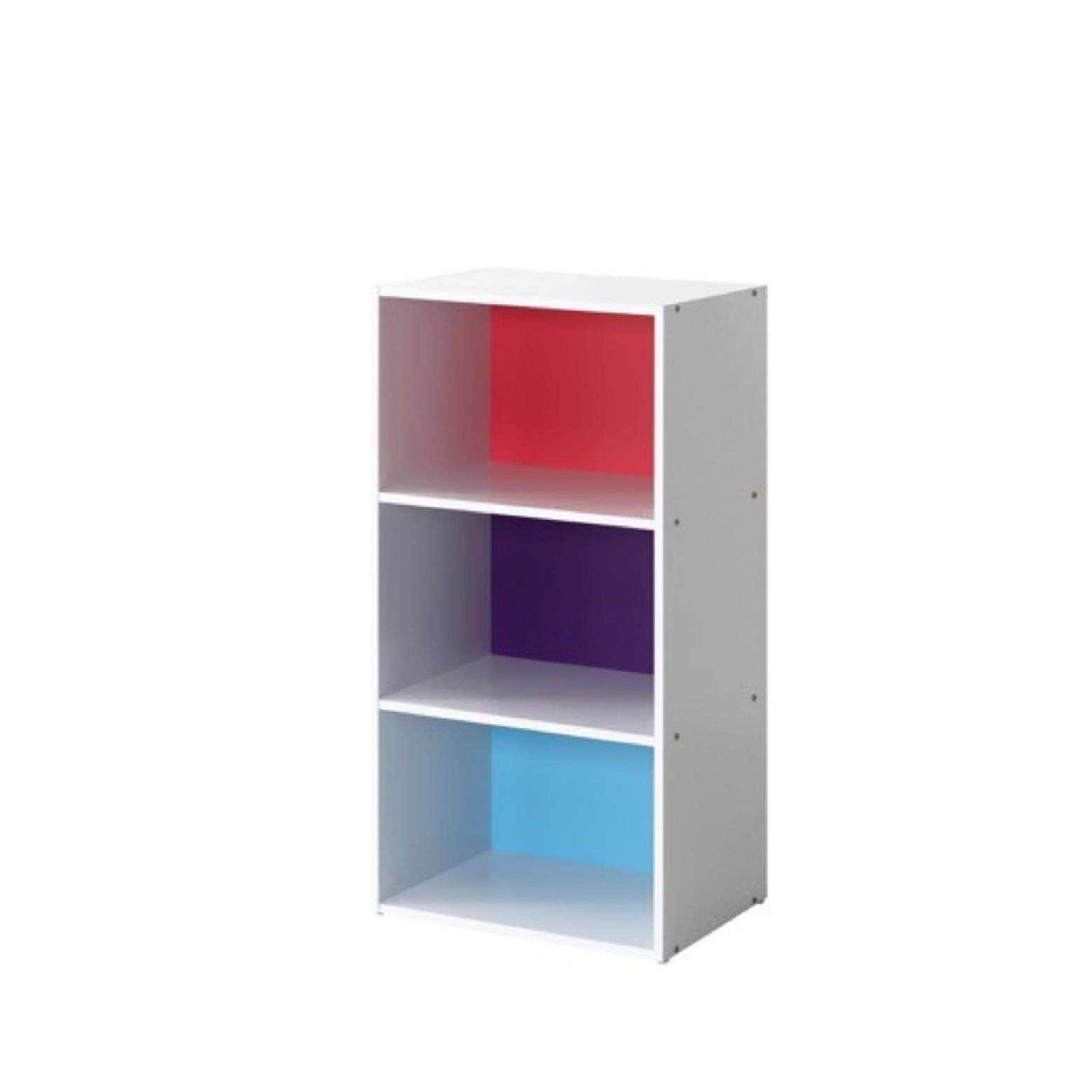 sweet decorating space saving office furniture. 3 Tier Utility Shelf / Colour Box Sweet Decorating Space Saving Office Furniture A