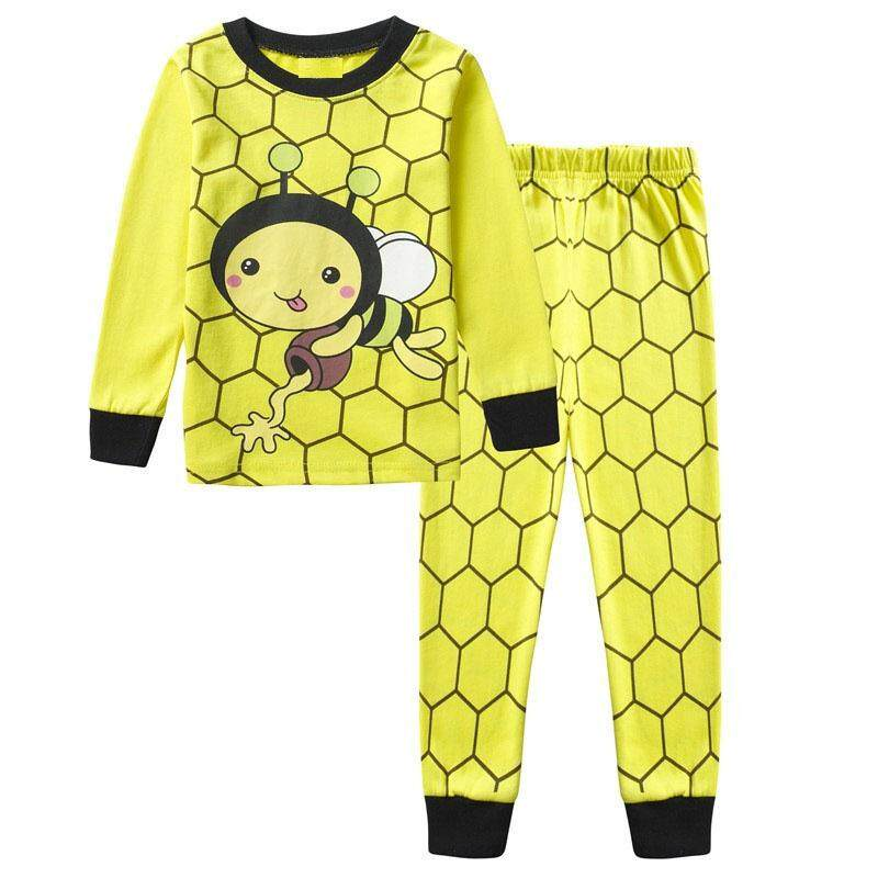 Spring Autumn Kids Boys Pajamas Set Long Sleeve Sleepwear Cute Cartoon Child Boy Pyjamas Set Nightwear Cotton Night Suits By Aprillan International Store.