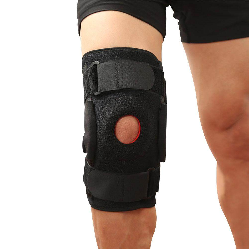 Detail Gambar HiQueen Outdoor Adjustable Knee Support Pad Brace Protector Patella Knee Support Arthritis Knee Joint