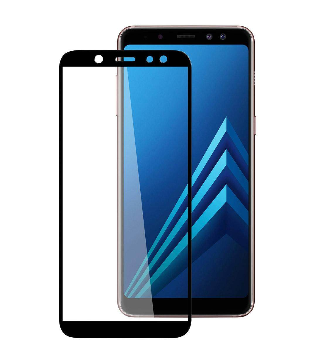 Features Full Covered Tempered Glass Screen Protector For Samsung