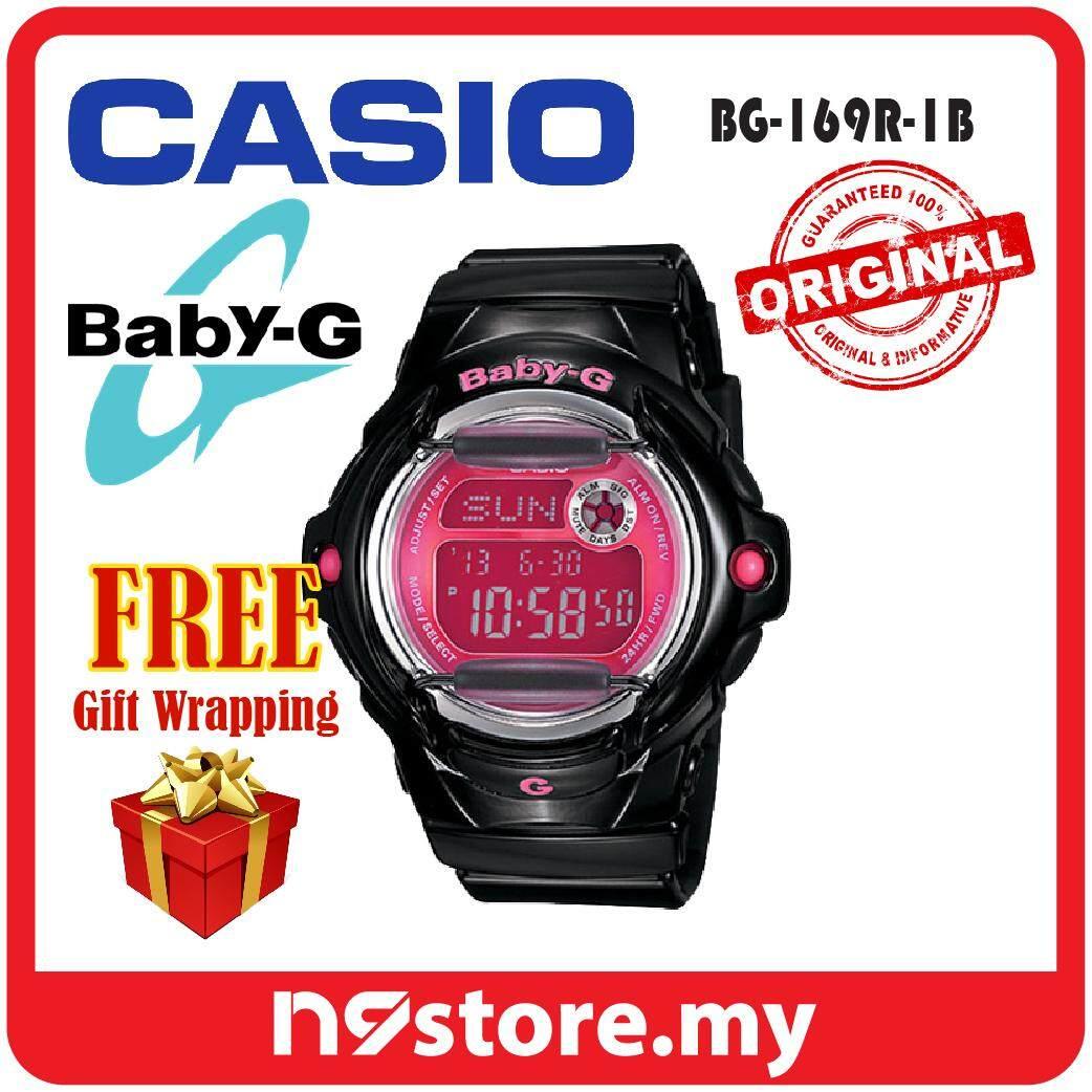 Casio Baby-G BG-169R-1B Digital Ladies Sports Watch