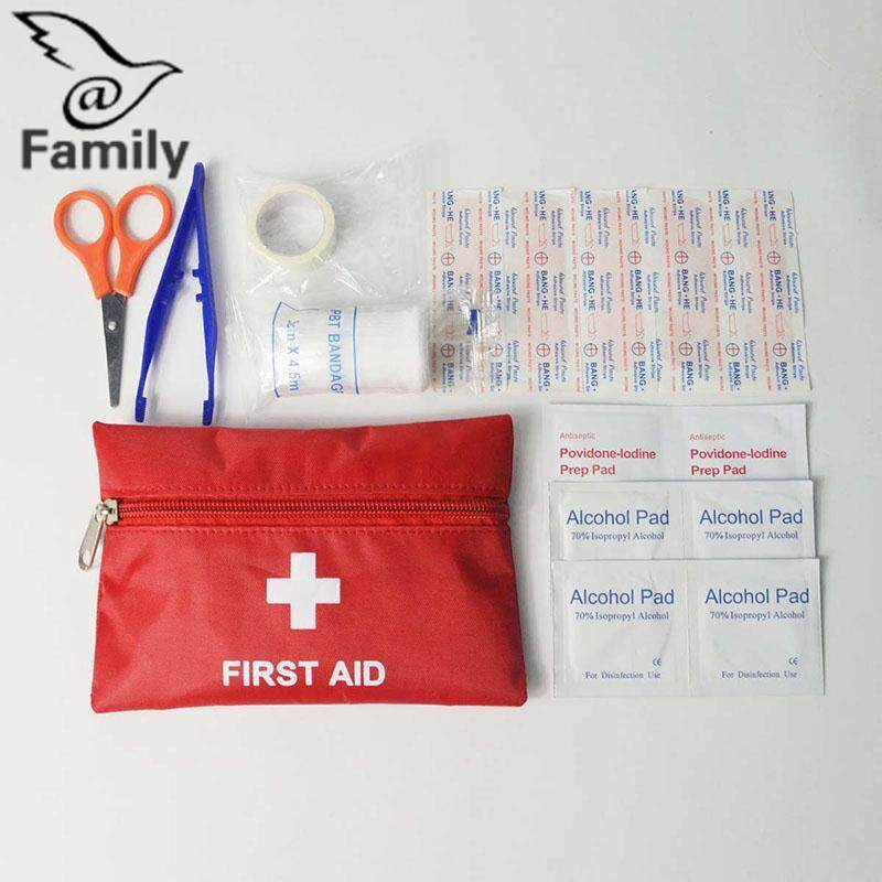 Hình ảnh Big Family:8pcs First Aid Kit Bag Camping Sport Emergency Medical Bag Health care Cloth