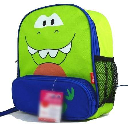 TEEMI Cartoon Animal School Bag Backpack for Nursery Kindergarten Kids Children Toddler - Dinosaur