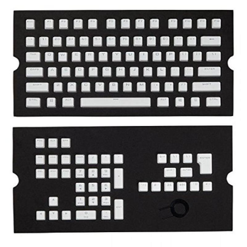 Computer Accessories Corsair Corsair CH-9000234-WW Gaming PBT Double-shot Keycaps Full 104/105-Keyset - White - intl Singapore