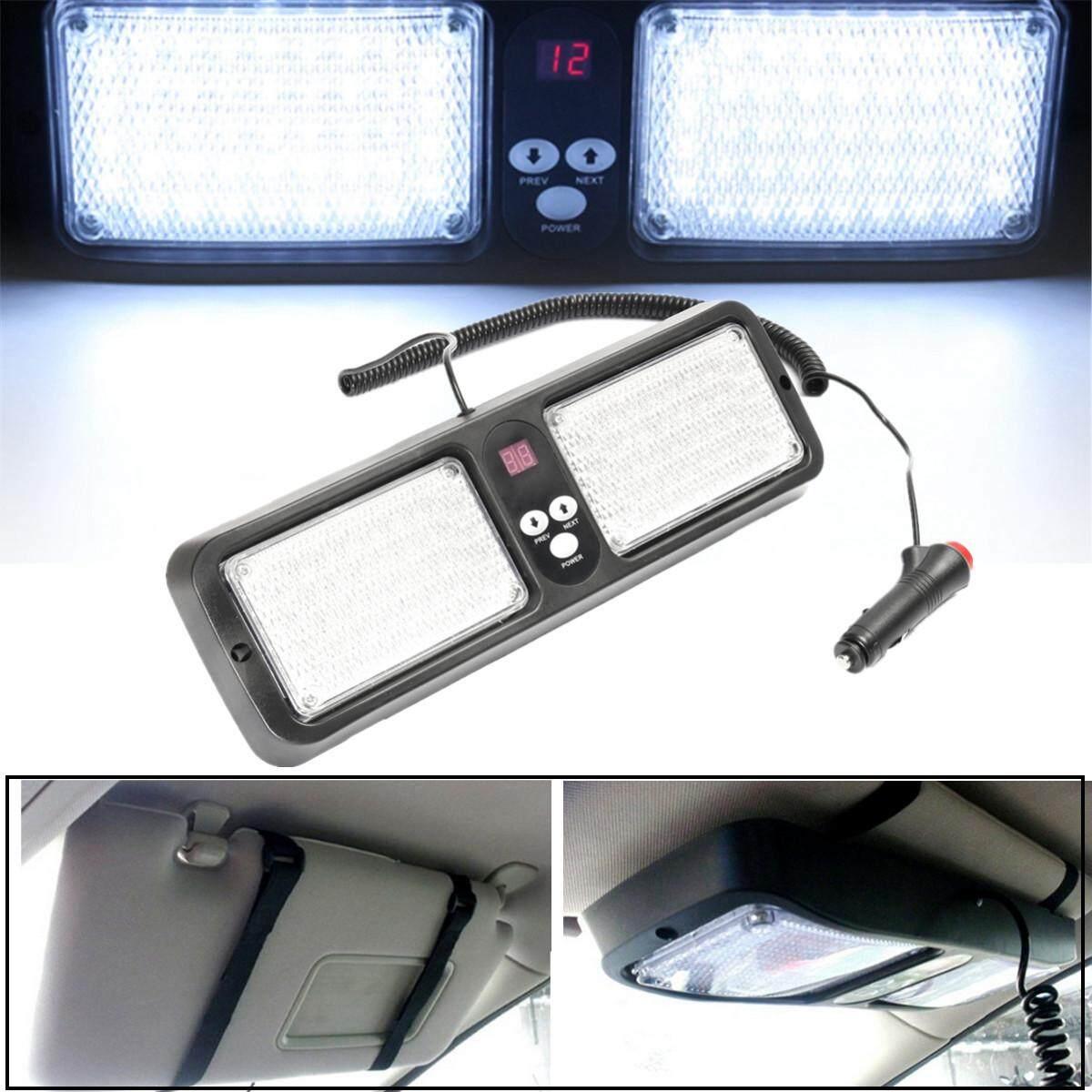 Car Flasher For Sale Turn Signal Relay Online Brands Prices Portable Lamp 86 Led 12v Strobe Light Sun Visor Flash Flashing