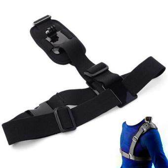 Harga preferensial B-F Single Shoulder Chest Strap Mount Holder Pro Belt Fix For GoPro Sport Camera Cycling terbaik murah - Hanya Rp48.960
