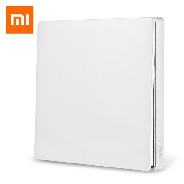【100% Original】Xiaomi WXKG03LM Aqara Smart Light Switch Wireless Version (Single Key) (Needs to work with gateway) Stickup Version