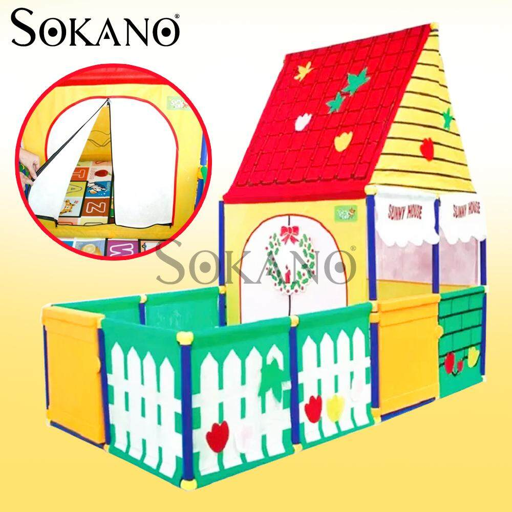 SOKANO SUNNY HOUSE 6009 XL Size Children's Playhouses Play Tent Play Yard Toy for Kids