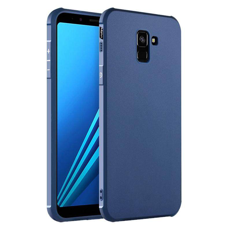Hicase Silicone Gel TPU Protective Case Cover for Samsung Galaxy A8 (2018)
