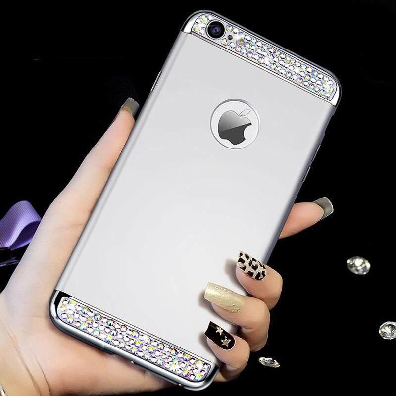 Untuk VIVO Y55, Bling Diamond Glitter DIY 3 In 1 Matte Keras Penutup Belakang Pelindung untuk Vivo Y55