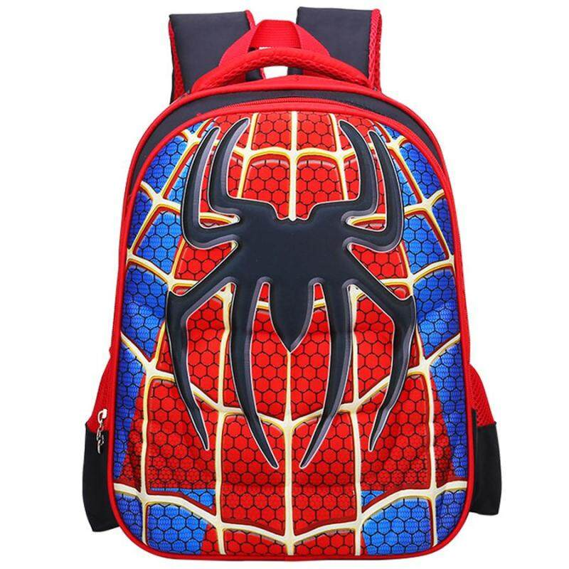 Large School Bags Backpack Shoulder Bookbags Fashion Rucksack School Backpack Bookbag Rucksack Bag Captain Camping Lightweight Crossbody Shoulder Travel Bag for Kid - intl