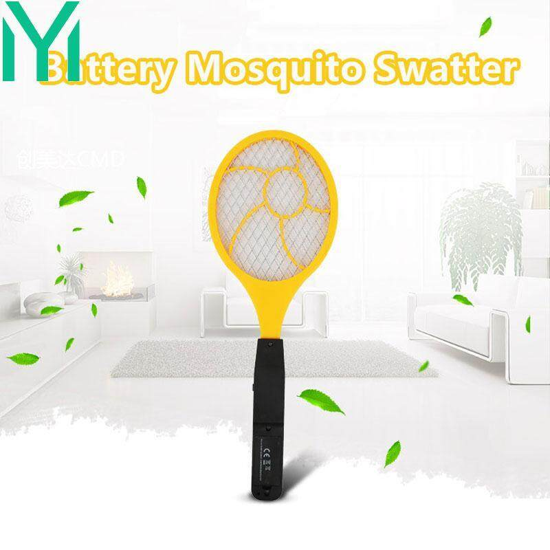 Electric Mosquito Swatter Flyswatter Handheld Practical 44 *15.5 * 4cm Red Blue