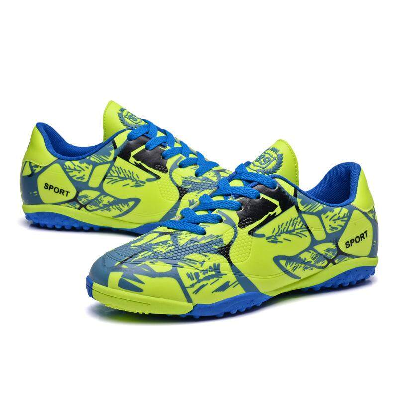 Football Shoes for Kids 4Colors New Fashion Star's Style Competition Soccer Boots Boys and Girls Ou