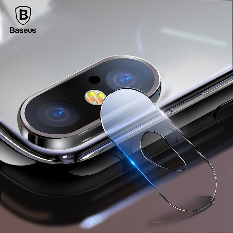 Baseus 2pcs Camera Lens Glass iPhone X XR XS Max 0.15mm Tempered Glass Lens Protector Film For iPhoneX Back Len Film