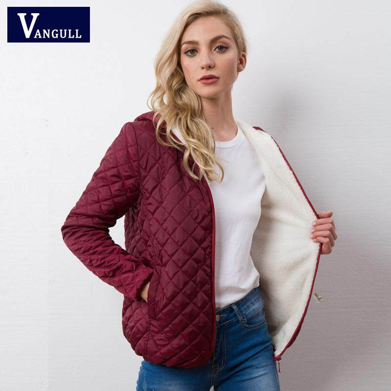 fc0351d4d28f Vangull winter Basic Jacket Female Coat Women Warm Down Cotton Parkas 2019  new Brand Autumn Fashion