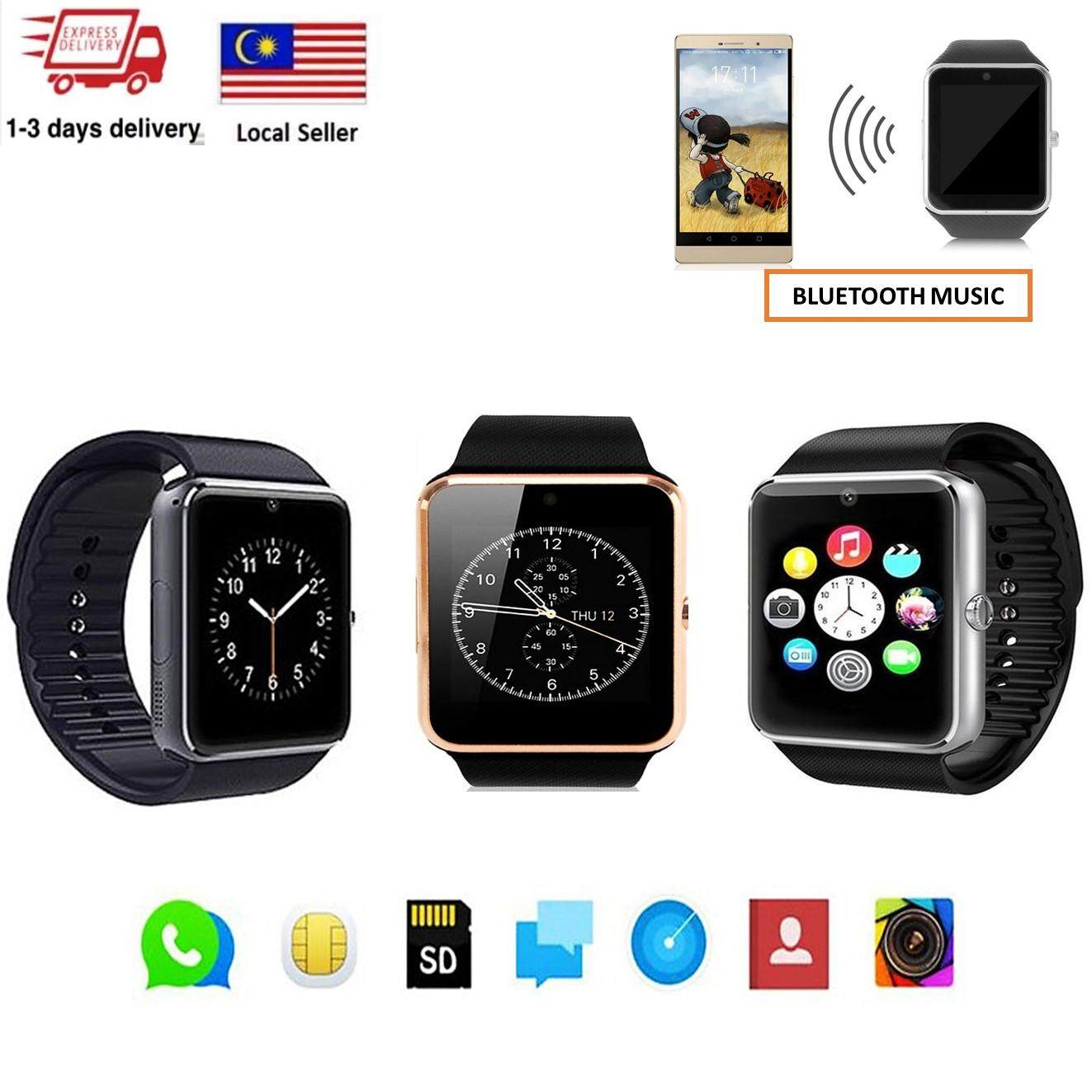 FREEMARKET  100% Authentic  GT08 Modern Bluetooth Smart Wrist Watch Phone  For Android 0e943a6b1f