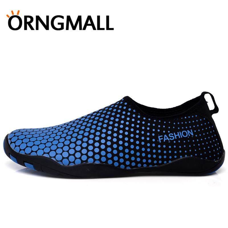 Review of Orngmall Pendatang Baru Musim Panas Sepatu Air Pria Cepat Kering Renang Yoga Pantai Napas