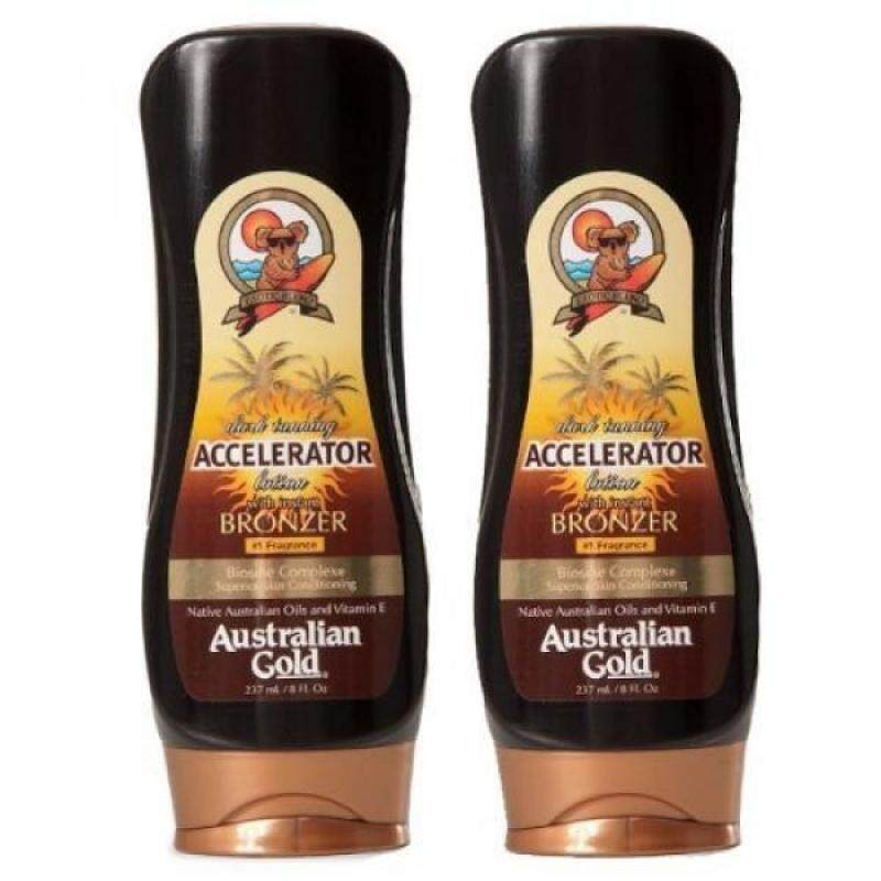 Buy Tanning Oils Lotion 2 Pack Dark Tanning Accelerator Lotion with Bronzer - intl Singapore