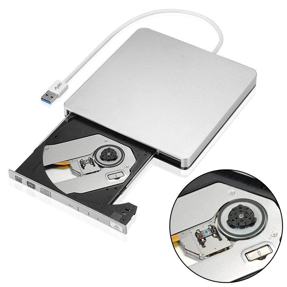 USB 3.0 Slim External DVD CD RW Drive Burner Player Writer For Laptop Netbook PC - intl