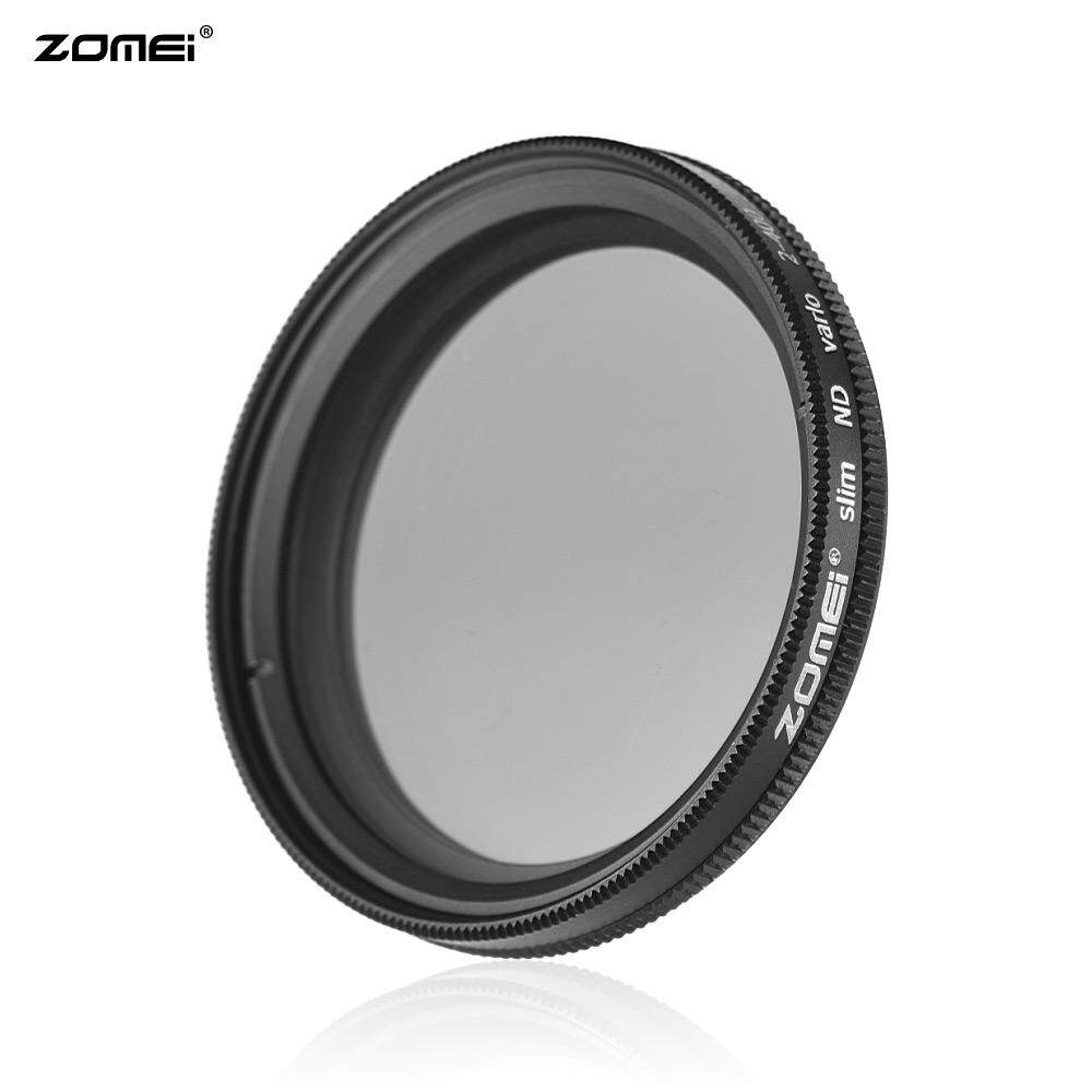 ZOMEI 40.5mm Ultra Slim Variable Fader ND2-400 Neutral Density ND Filter Adjustable ND2 ND4 ND8 ND16 ND32 to ND400 for Nikon J1 V1 for Olympus EP-1 EP-2