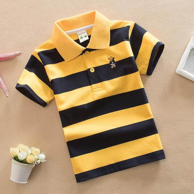 Baby Boy Korean Fashion Boys Clothing for Boy Short Sleeve Spring Shirt for Boys 2017