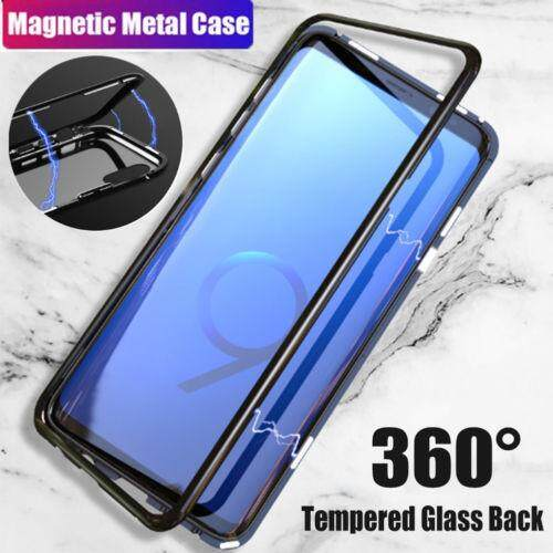 Review Big House Magnetic Adsorption Metal Bumper Glass Case Cover