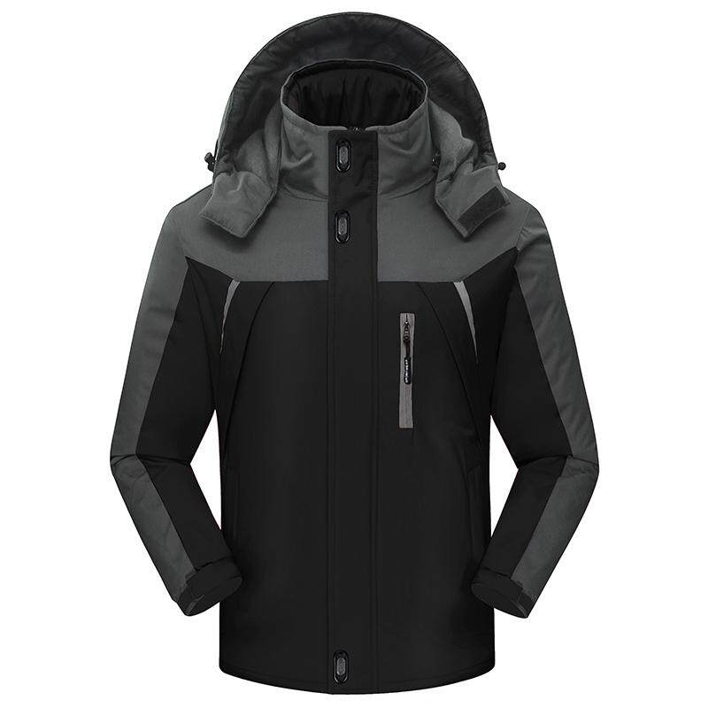 Men's sports thicken cotton jacket
