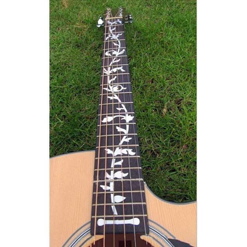 vigo 1X Instrument Decoration Guitar Bass Inlay Fretboard Decal Ultra Thin Sticker 1X Instrument Decoration Guitar Bass Inlay Fretboard Decal Ultra Thin Sticker Malaysia
