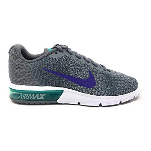 866cdf0271 NIKE Womens Air Max Sequent 2 Running Shoe Cool Grey/Court Purple/Dark Grey