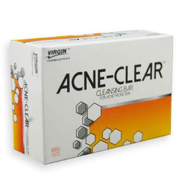 ACNE-CLEAR CLEANSING BAR 100GM