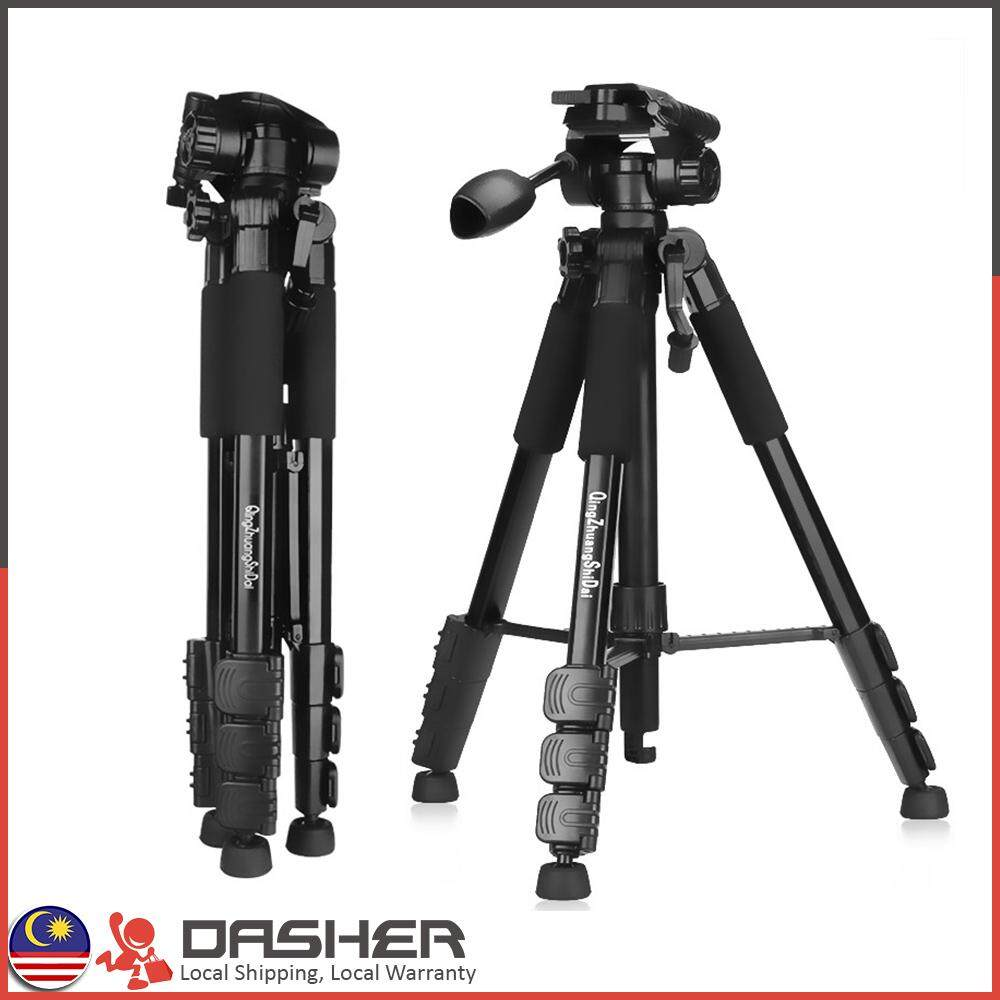 Features Beike Qzsd Q160s Light Weight Compact Travelling Tripod For 02 Q666 Dslr Large Portable Stand Professional