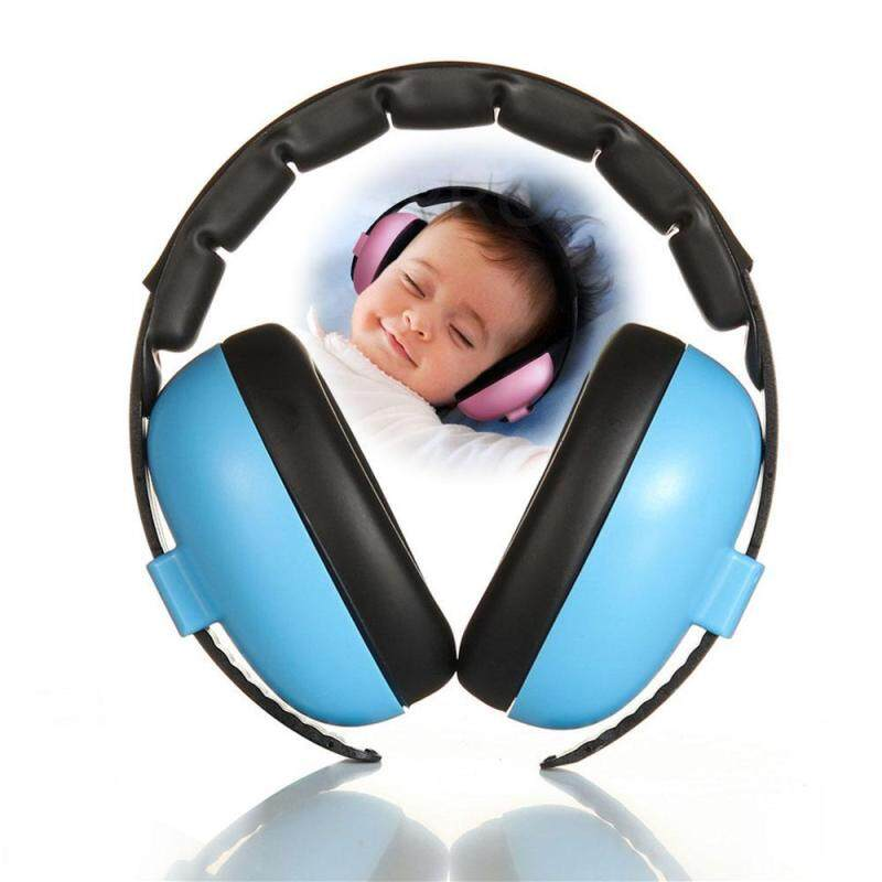 Womdee Baby Ear Defender Headphone - 30DB Noise Cancelling Hearing Protection Safety Earmuffs for Sleeping Studying Outdoor Travelling - Ages Over 6 Months, Soft & Comfortable, Adjustable Earphone