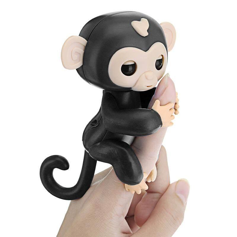 Jari Bayi Hewan Interaktif Monyet Smart Warna-warni Mainan Induksi untuk  Anak-anak Anak 3292c23aa1