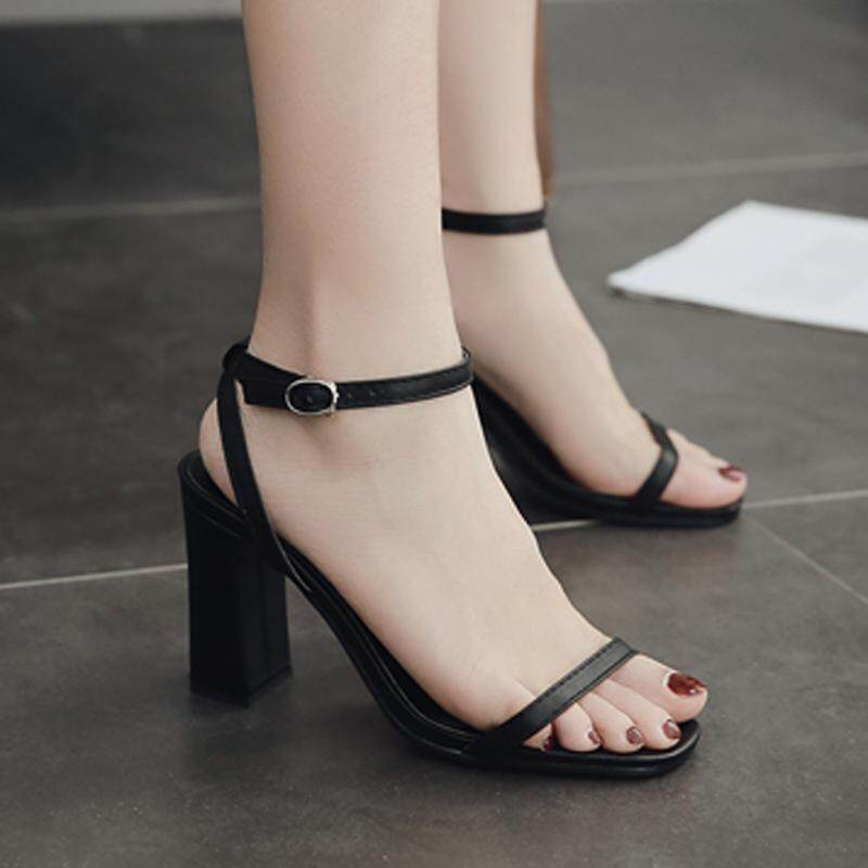 Womens High Heels Concise Sandals