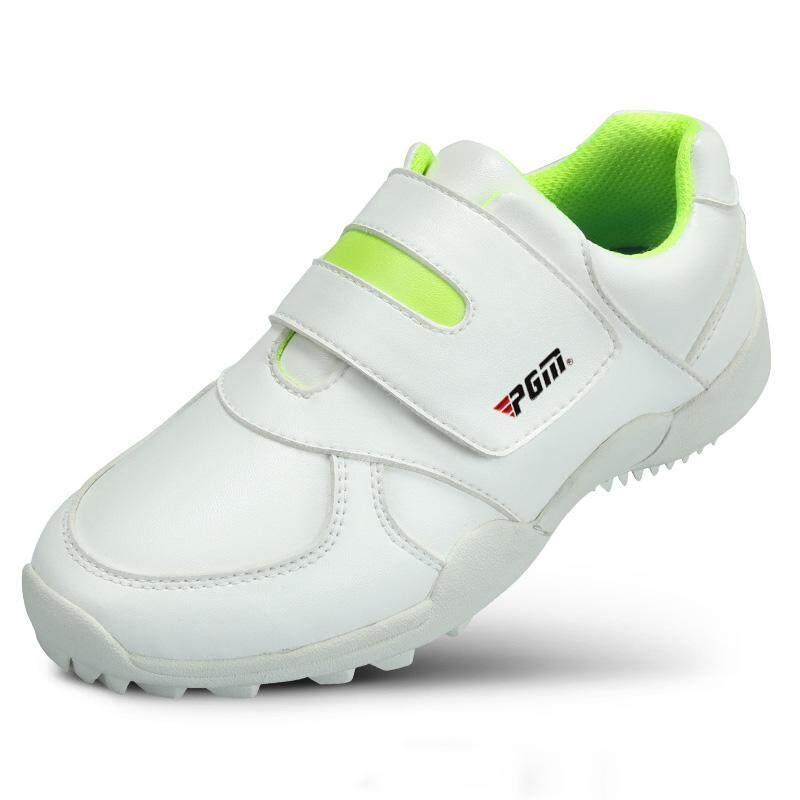 Size 30-36 Kids Golf Shoe Boys Girls Sport Shoes Waterproof Training Shoes Breathable Anti-Slip Sneakers By Kun Yue.